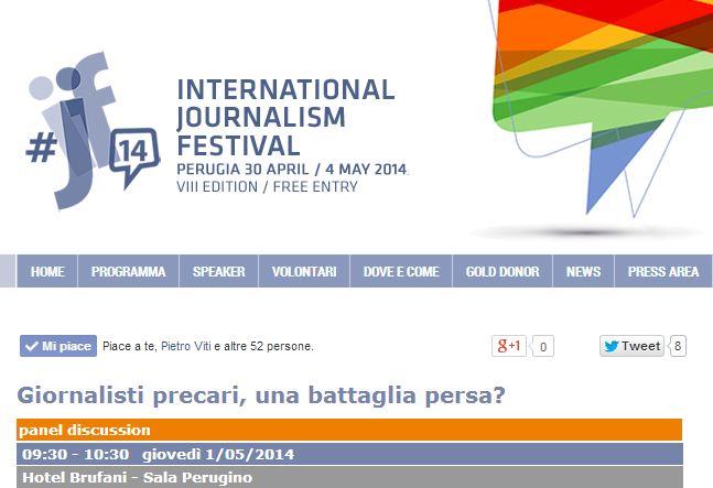 festival del giornalismo 2014 perugia